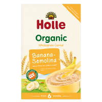 Holle Organic Fruit Porridge Banana-Semolina