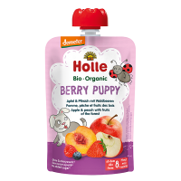 Holle Organic Baby Food Pouch - Berry Puppy
