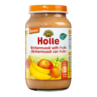 Holle Organic Birchermuesli with Fruit Baby Food