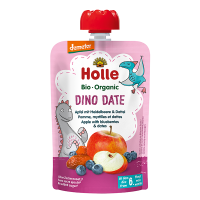 Holle Organic Baby Food Pouch - Dino Date