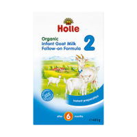 Holle Organic Infant Goat Milk Follow-on Formula 2 (crumpled corners)