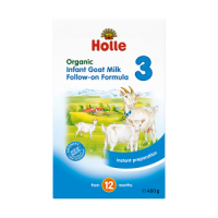 Holle Organic Infant Goat Milk Follow-on Formula 3 (crumpled corners)