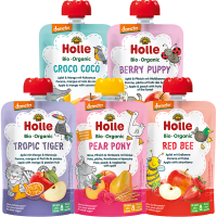Holle Organic Taste the Rainbow Pouch Variety Pack