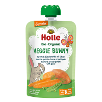 Holle Organic Baby Food Pouch - Veggie Bunny