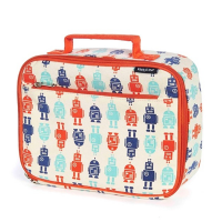 Organic Cotton Lunch Box - Robots