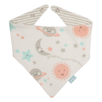 Kite Organic Love You Bandana Bib
