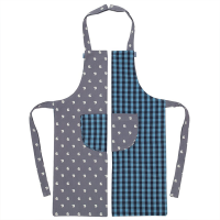 Kite Kids Organic Blue Reversible Apron
