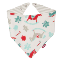Kite Organic Rocking Horse Bib