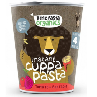 Little Pasta Organics - Tomato & Beetroot Instant Pasta Pot