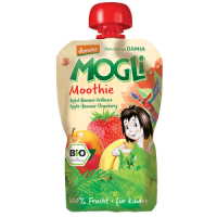 Mogli's Organic Strawberry Smoothie
