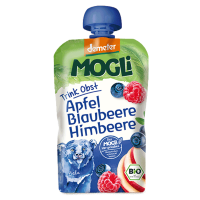 MOGLi Organic Fruit Pouch Blueberry