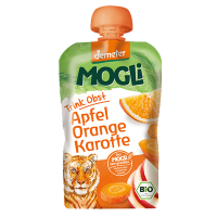 MOGLi Organic Fruit Pouch Orange