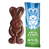 Moo Free Organic Rosie Rabbit Chocolate Bar