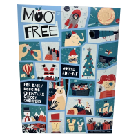 Moo Free White Chocolate Advent Calendar
