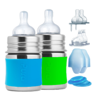 Pura Kiki® 5oz Infant Starter Set (0m-18m) Aqua/Green