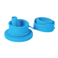 Pura Silicone Sports STRAW Top - Aqua