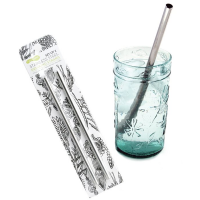 Stainless Drinking Steel Straws (2-Pack)