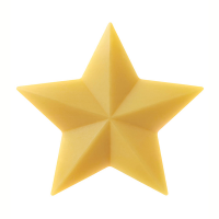 Pure Plant Oil Star Soap