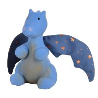 Tikiri Midnight Dragon Natural Rubber Teether & Rattle
