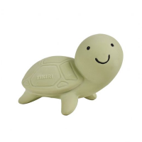 Tikiri Turtle Natural Rubber Teether, Toy & Rattle