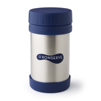 Large Insulated Food Jar - Navy