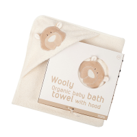 Wooly Organic Hooded Teddy Towel