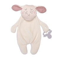 Wooly Organic Comforter Lamb with Soother Holder