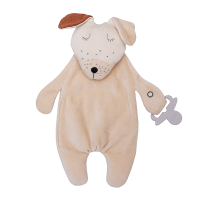 Wooly Organic Comforter Puppy with Soother Holder