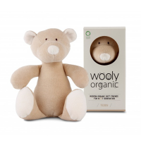 Wooly Organic Teddy Bear [crumpled corners]