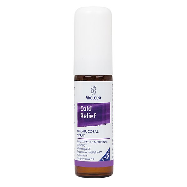 Weleda Cold Relief Oromucosal Spray